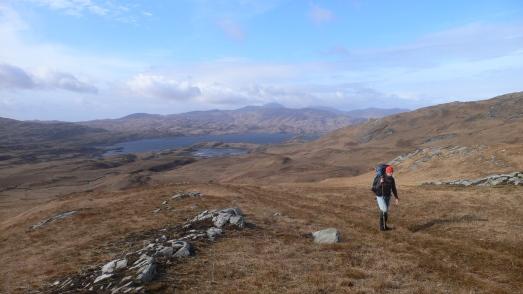 Above Loch Tarbert
