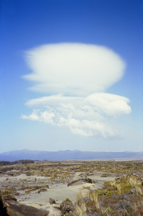 Apocalyptic cloud formation above the Rangipo Desert