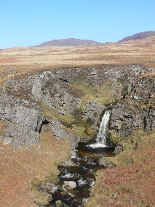 Waterfall at Sliabh Allt an-Tairbh