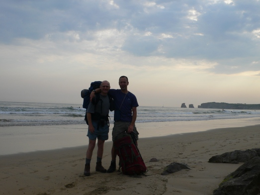 Hendaye Plage, 800kms to go