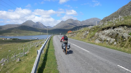 On the road to Huisnis, Harris, Outer Hebrides
