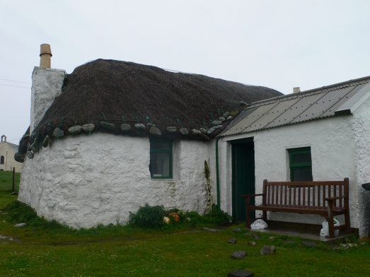 The Gatliff trust hostel at Howmore, South Uist