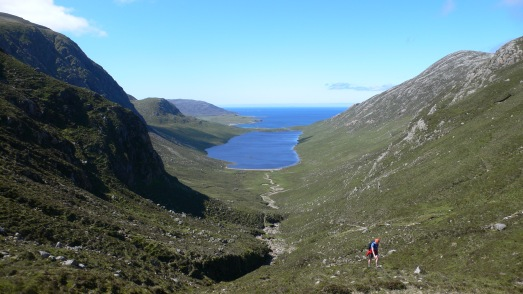Near the head of Glen Cravadale